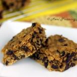 Choco-Oat Cookie Bars