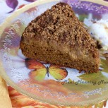 Pumpkin-Apple Coffee Cake