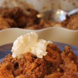 Easy Apple Crisp (Gluten-free)
