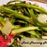 Asparagus Ribbon Salad with Lemony Vinaigrette