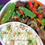 Crockpot Asian Beef 'n Vegetable Curry