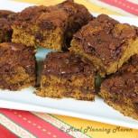 Chocolate Chip Coffee Cake Squares