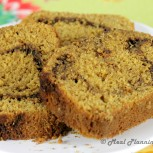 Welcome Autumn with Cinnamon Streusel Bread