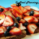 Apricot-Glazed French Toast with Fresh Berries