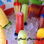 Homemade Frozen Fruit and Yogurt Pops