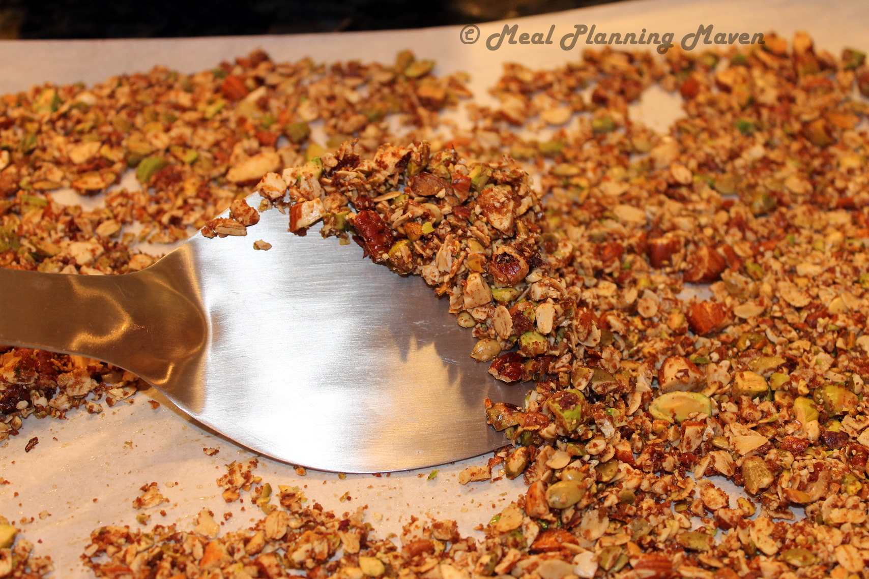 Nutty Crunchy Crumble - Meal Planning Maven