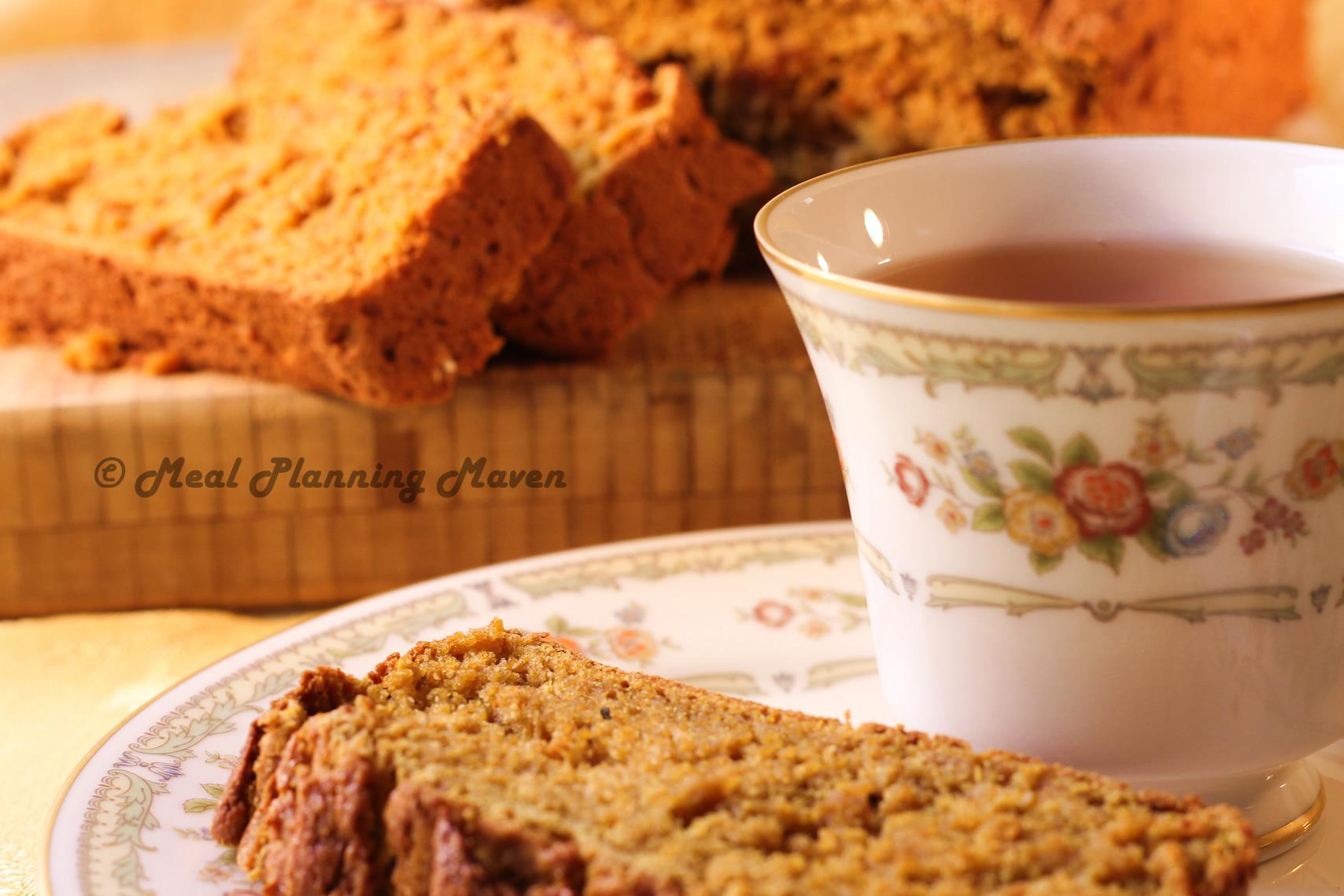 Pumpkin Applesauce Bread (Gluten-Free) - Meal Planning Maven