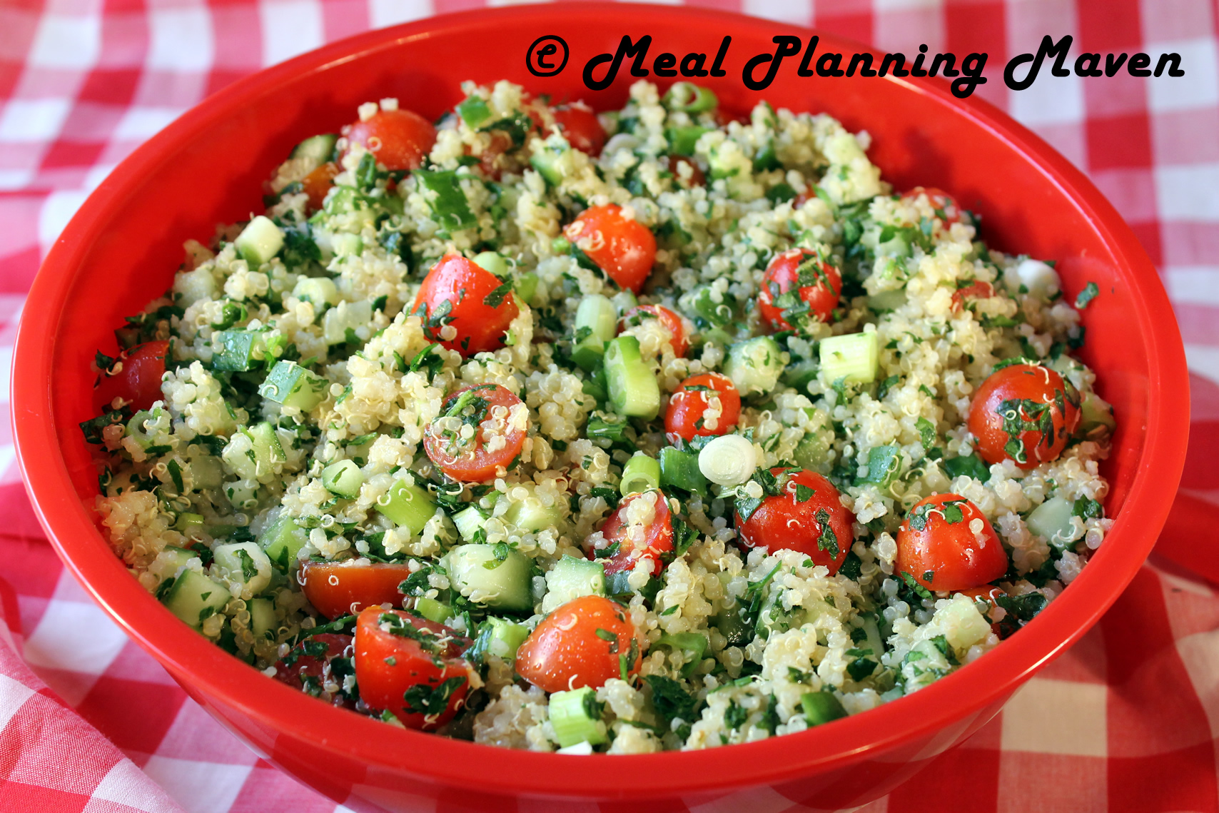 Quinoa Tabbouleh - Meal Planning Maven
