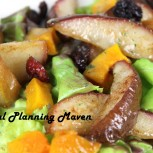 Roasted Pear and Butternut Squash Salad