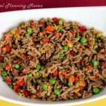 Whole Wheat Veggie Orzo