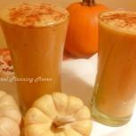 Pumpkin-Peach Cobbler Smoothie