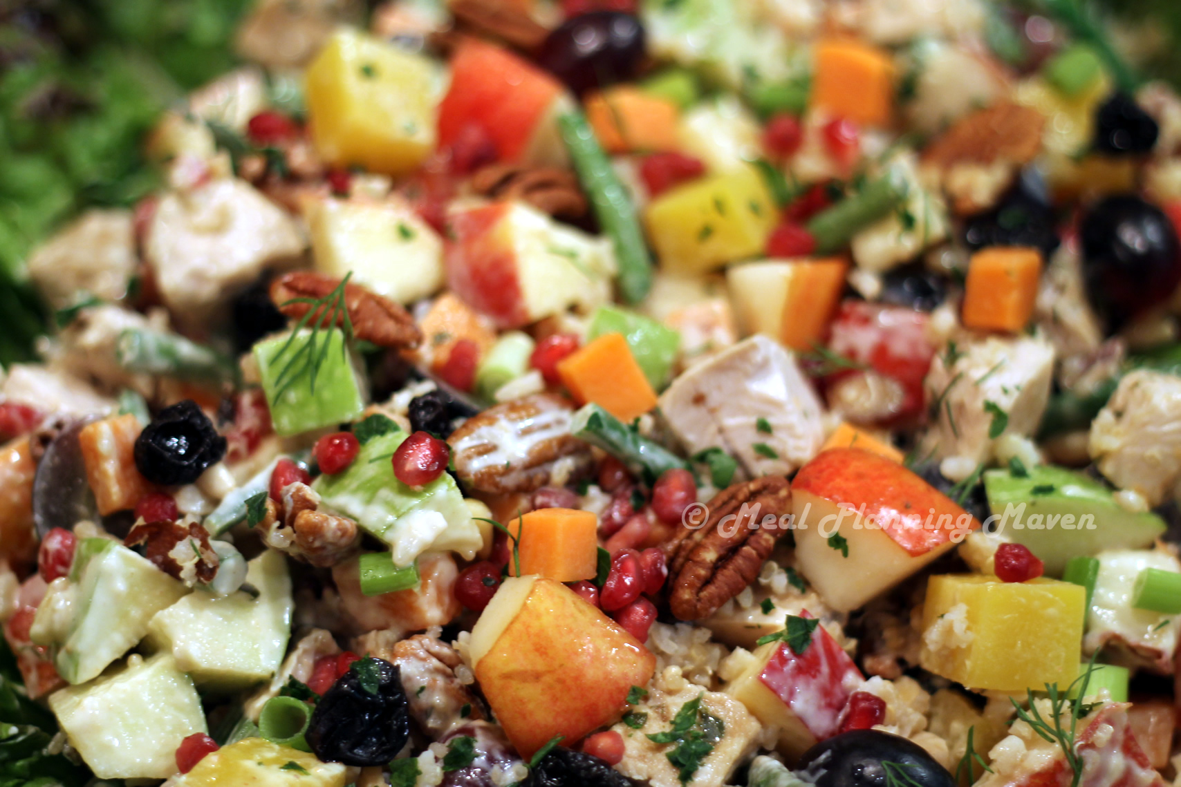 Recipes For Thanksgiving Leftovers Featuring A Fantastic Salad