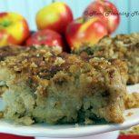 Honey-Kissed Apple Snack Cake