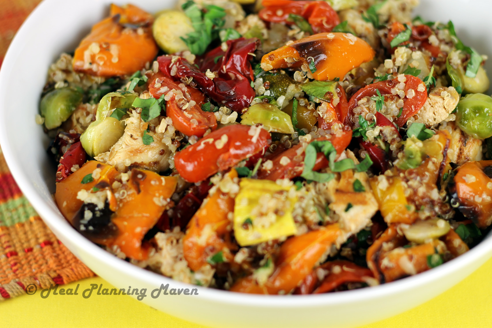 Say Hello to Spring with Chicken, Roasted Vegetable 'n ...