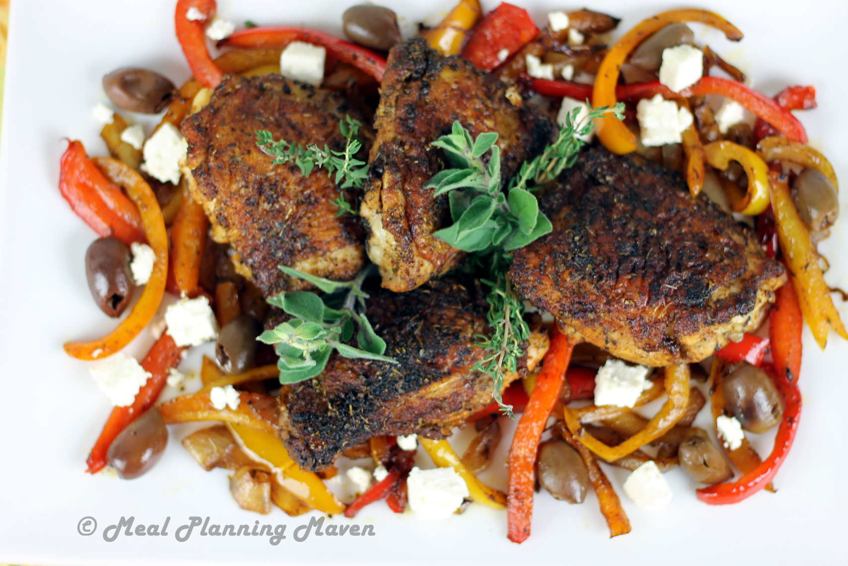 Mediterranean-Spiced Chicken Thighs