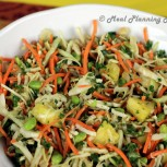 Asian Kale 'n Pineapple Slaw