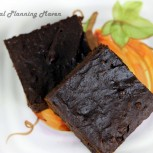 Double Chocolate Spiced Pumpkin Brownies