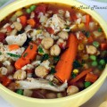 Turkey-Vegetable-Barley Soup and After Thanksgiving Goodies