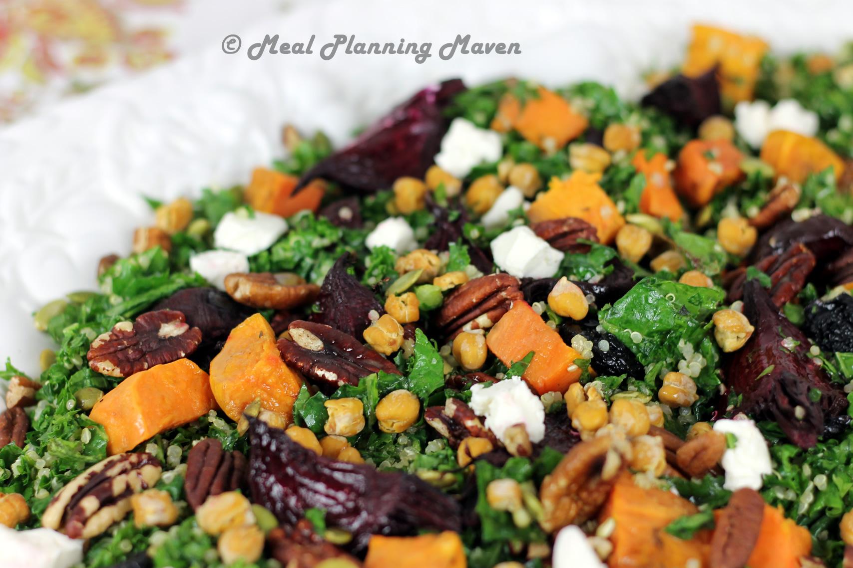 Cider-Glazed Carrot And Quinoa Salad Recipe — Dishmaps
