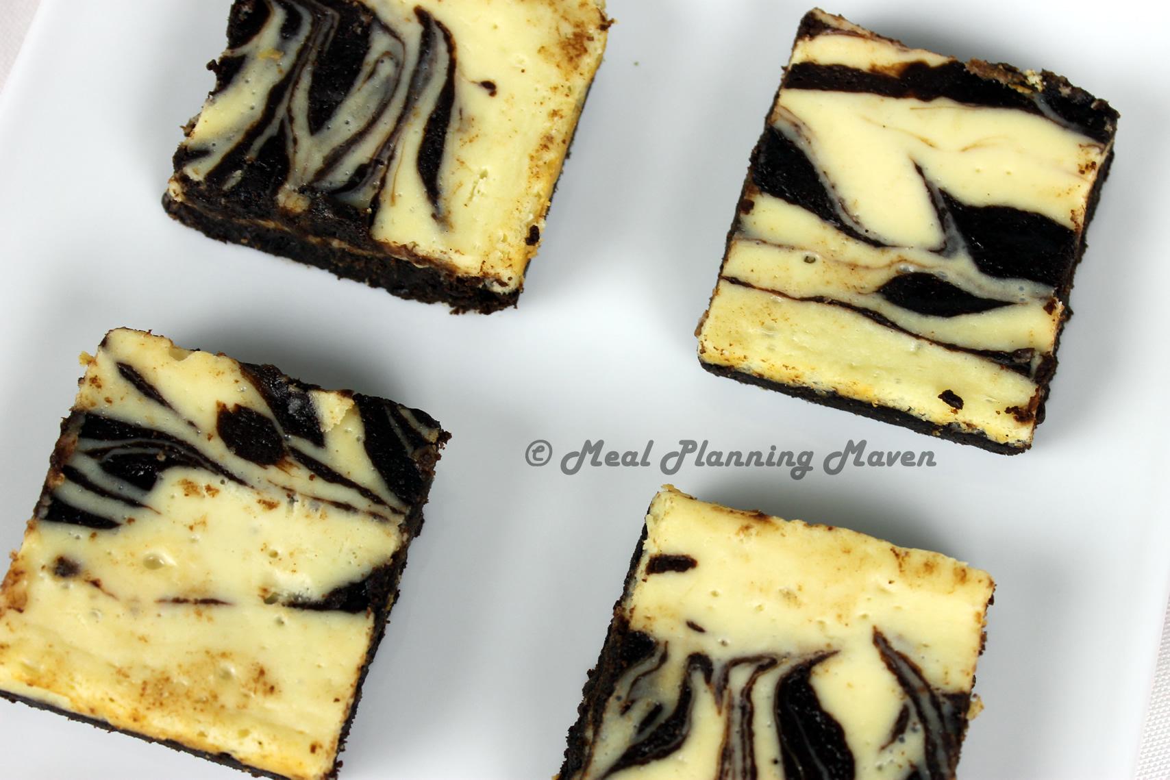 Swirled Cheesecake Brownies
