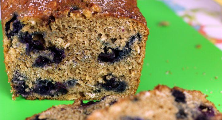 Blueberry Oat Bread