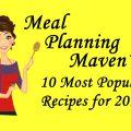 MPM's Ten Most Popular Recipes for 2016