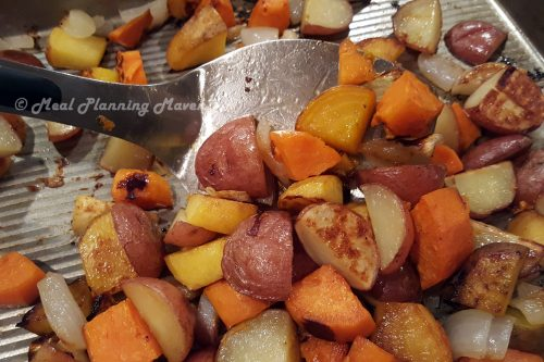 Sheet Pan Roasted Root Veggies