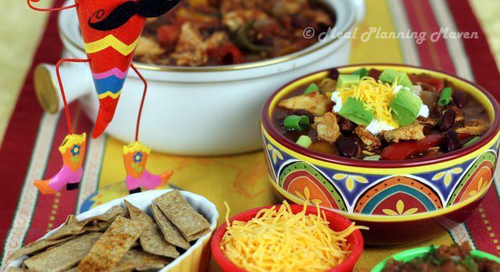 Cinco de Mayo Goodies Featuring Crockpot Chicken Fajita Soup