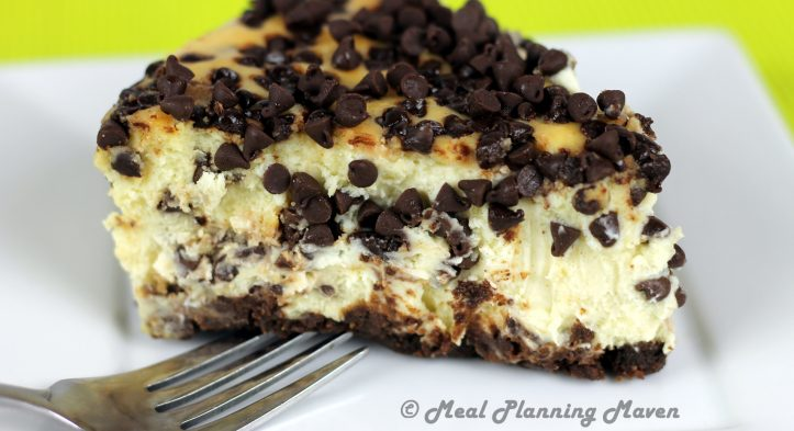 Ultimate Chocolate Chip Cheesecake
