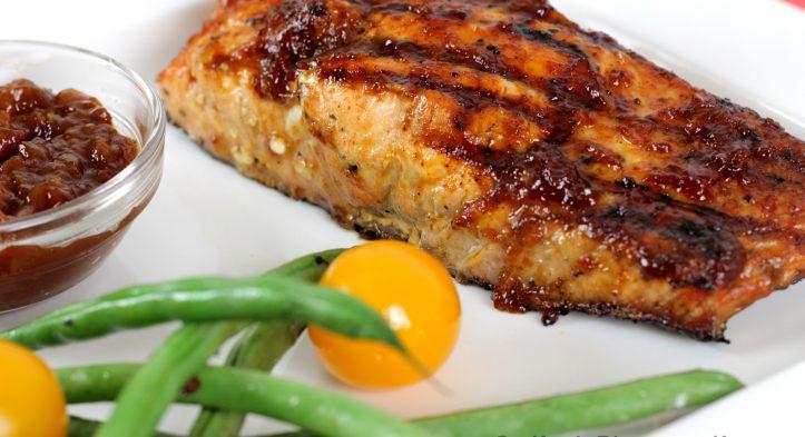 Sweet 'n Tangy BBQ Salmon